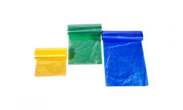 کیسه زباله آبی رولی پایدار