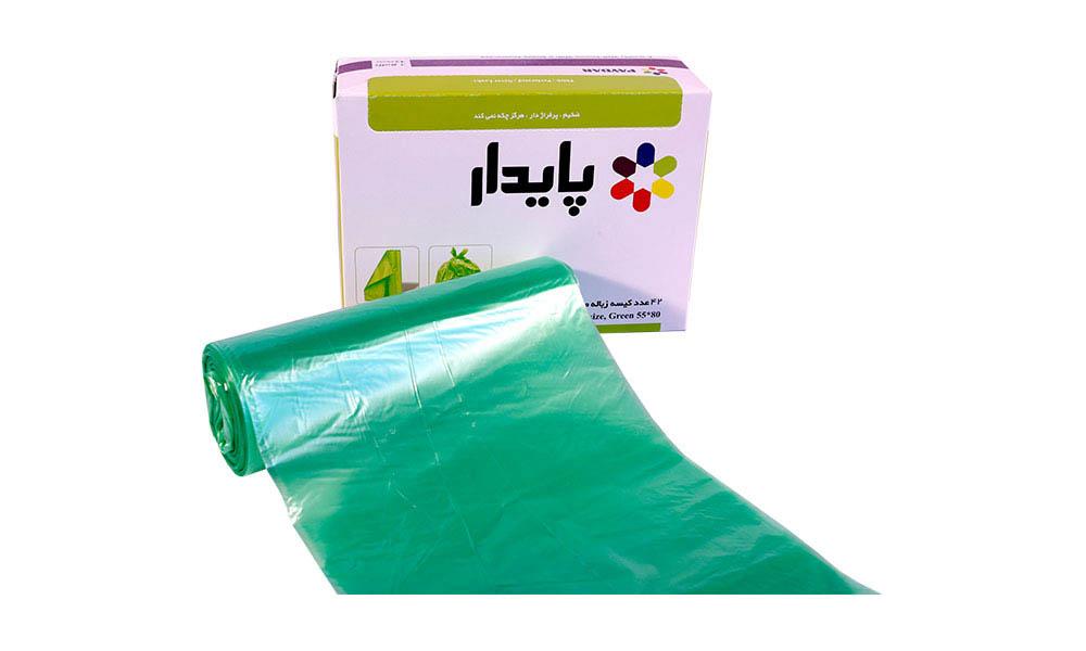 کیسه زباله سبز رولی پایدار 4