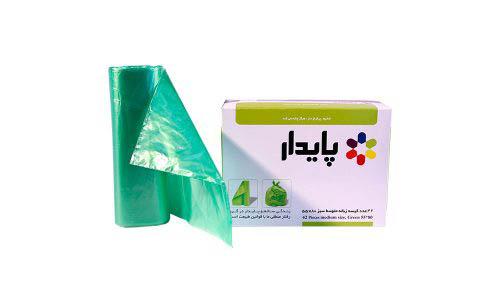 کیسه زباله سبز رولی پایدار 1